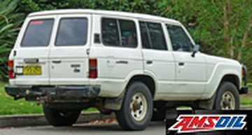 1981 TOYOTA LAND CRUISER synthetic oil capacity & filter