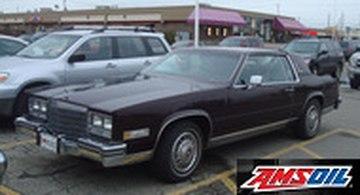 1985 cadillac eldorado recommended synthetic oil and filter 1985 cadillac eldorado recommended