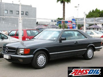 1985 MERCEDES BENZ 500SEC recommended synthetic oil and filter