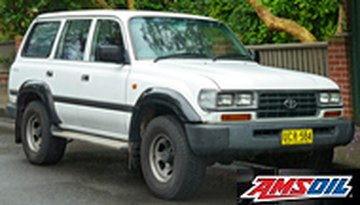 1995 TOYOTA LAND CRUISER recommended synthetic oil and filter