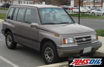 1996 SUZUKI SIDEKICK recommended synthetic oil and filter