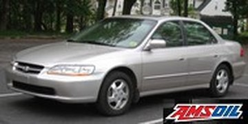 2000 HONDA ACCORD recommended synthetic oil and filter