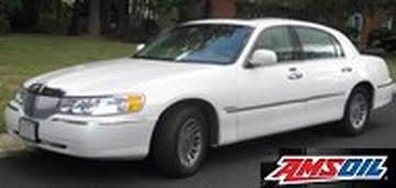 2000 Lincoln Town Car Synthetic Oil Capacity Filter