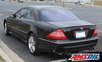 2002 MERCEDES BENZ CL55 AMG recommended synthetic oil and filter