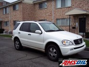 2003 MERCEDES BENZ ML350 recommended synthetic oil and filter