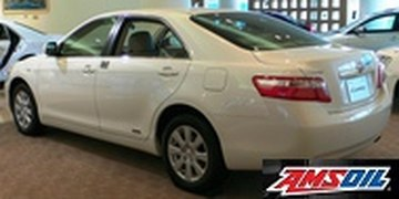2006 TOYOTA CAMRY synthetic oil capacity & filter