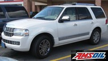 2010 LINCOLN NAVIGATOR recommended synthetic oil and filter