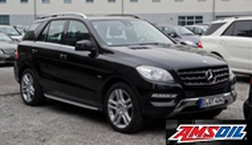 2010 MERCEDES BENZ ML350 recommended synthetic oil and filter