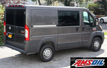 2015 RAM PROMASTER 1500 recommended synthetic oil and filter