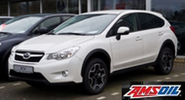 2016 SUBARU CROSSTREK recommended synthetic oil and filter