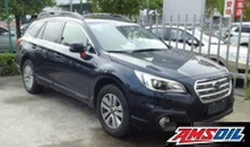 Motor oil designed for your 2016 SUBARU OUTBACK