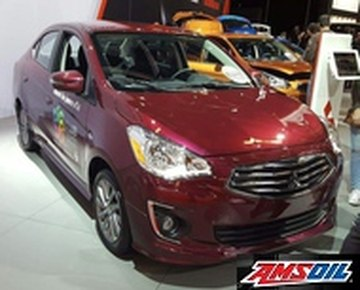 2017 MITSUBISHI MIRAGE G4 recommended synthetic oil and filter