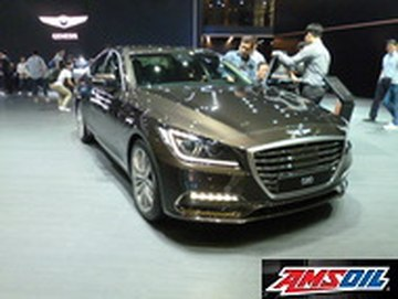 Motor oil designed for your 2018 GENESIS G80