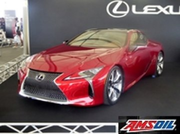 Motor oil designed for your 2018 LEXUS LC500
