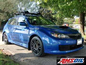 2018 SUBARU WRX STI recommended synthetic oil and filter