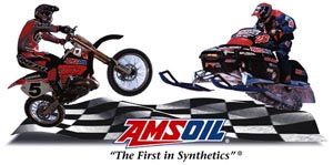 Amsoil is perfect for use in motorcycles and snowmobiles