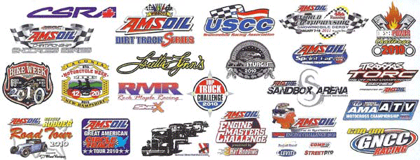 Amsoil is the official motor oil for these organizations